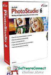 Arcsoft Photostudio 6 Photo Studio Full Retail & Sealed Genuine