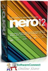 Nero 12 Burn Cd Dvd Audio Video Not 2021 Genuine Guarantee