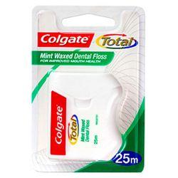 Colgate Dental Floss Waxed Mint 25m