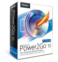Cyberlink Power2go 10 Platinum - Burn, Backup & Enjoy Media On The Go