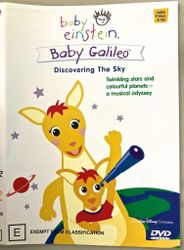Baby Einstein Baby Galileo Discovering The Sky Dvd Plus Sizes Book Age