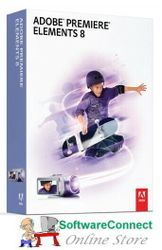 Adobe Premiere Elements 8 Video Editor & Sealed 2 Pc Licence