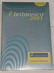Britannica 2001 Standard Edition Version Pc Cd-rom Factory Sealed