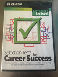 Pc Cd-rom Green Label Selection Tests For Career Success