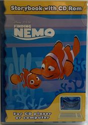 Finding Nemo Storybook And Cd Rom Cd Pc 2000 Sealed Childrens Learning