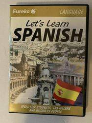 Let's Learn Spanish Pc/mac Cd-rom For Students, Travellers & Business
