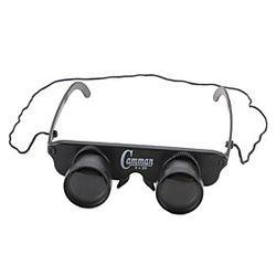 3 X 28 mm Binoculares Enfoque Ajustable Polarizada Manos Libres Pesca El plastico