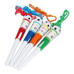 Bolígrafo Bolígrafo Bolígrafos Bolígrafo, El plastico Azul colores de tinta For Suministros de la escuela Material de oficina Paquete de