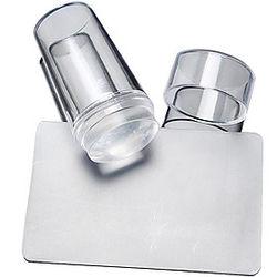 2 pcs Uñas herramientas de bricolaje Estampado de placa arte de uñas Manicura pedicura Diseños de Moda Elegante / Redondo / Cuadrado / Placa de estampado