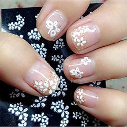 30 pcs Joyas de Uñas arte de uñas Manicura pedicura Encantador Clásico Diario / El plastico / Joyería de uñas