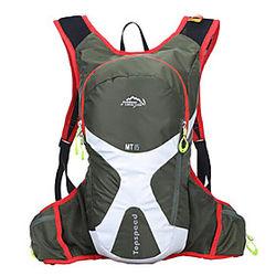 Ciclismo Mochila mochila Running Pack 15L para Running Deportes recreativos Viaje Bolsas de Deporte Multifuncional Impermeable Listo para vestir Terileno Bolsa