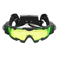 Gafas de visión nocturna Lentes Impermeable Ajustable LED Antiempañamiento Camping y senderismo Caza Disparo El plastico Metal / Visión nocturna