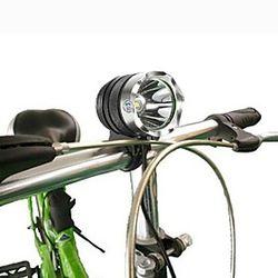 Linternas LED Impermeable Recargable 1000 lm LED LED 1 Emisores 3 Modo de Iluminación con cargador Impermeable Recargable Camping / Senderismo / Cuevas De Uso