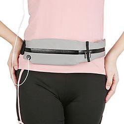 Running Belt Fanny Pack Waist Bag / Pack for Outdoor Exercise Running Outdoor Bike / Cycling Sports Bag Multifunctional Waterproof Portable Nylon Neoprene Runn
