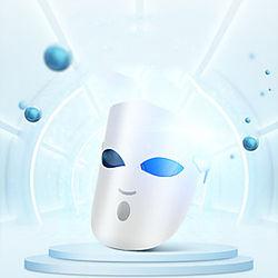 k-skin kd036 fotón led máscara facial mascarilla terapia de luz rejuvenecimiento de la piel cuidado de la piel anti acné masaje de eliminación de arrugas 3 col