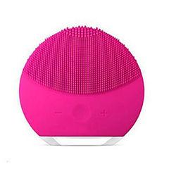 Cepillo de limpieza facial eléctrico mini 2 depurador de piel suciedad de poros limpiar herramientas faciales de cepillo de silicona antiarrugas