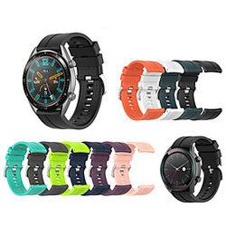 Correa de Smartwatch para Huawei 1 pcs Correa Deportiva Silicona Reemplazo Correa de Muñeca para Huawei reloj GT 42 mm 46 mm