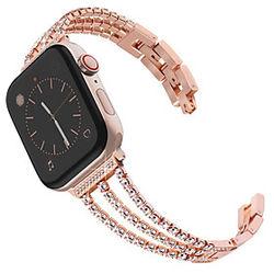 1 pcs Ver Banda para Apple iWatch Correa Deportiva Diseño de la joyería Acero Inoxidable Reemplazo Correa de Muñeca para Apple Watch Series SE / 6/5/4/3/2/1 3