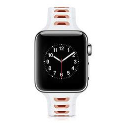 1 pcs Ver Banda para Apple iWatch Correa Deportiva Silicona Reemplazo Correa de Muñeca para Apple Watch Series SE / 6/5/4/3/2/1 38 mm 40 mm 42 mm 44 mm
