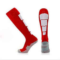 Calcetines de compresión Calcetines Deportivos Calcetines de Running Hombre Calcetines de tubo Calcetines largos Transpirabilidad Reductor del Sudor Antidesliz