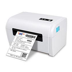 ykscan tdl405 impresora de etiquetas de oficina con cable usb 4x6 impresora de etiquetas impresora térmica directa de grado comercial compatible con etsy, ebay