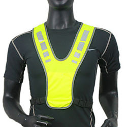 Reflective Vest Safety Vest Running Gear Breathable Durable Class 2 High Visibility Reflective Strip Portable Lightweight Comfy Versatile for Running Cycling /