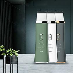 máquina de limpieza ultrasónica para el hogar instrumento de limpieza para el lavado de la cara y la belleza nueva máquina de limpieza multifunción para elimin
