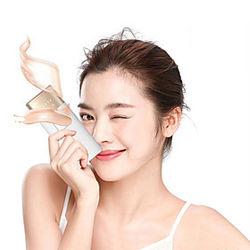 Dispositivo de depilación láser de punto de congelación dispositivo de depilación de rejuvenecimiento corporal permanente para dama sin dolor