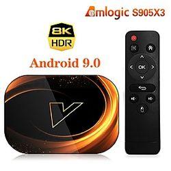 OEM de fábrica X3 Amlogic S905X3 4GB 128GB