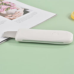 Instrumento de limpieza de iones ultrasónico eléctrico, máquina para limpiar espinillas, equipo de belleza de limpieza de piel muerta