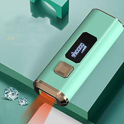 aparato de depilación láser doméstico punto de congelación aparato de depilación indoloro aparato eléctrico doméstico de cuerpo completo vello de la axila vell