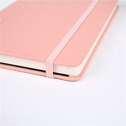nuevo diario de color caramelo, correa de goma, cuaderno de estudiante, personalización de la contabilidad de la oficina