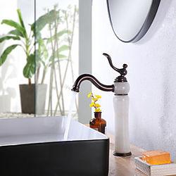grifo del lavabo del baño estilo británico del soldado real monomando de un solo orificio 8.2 pulgadas grifo del lavabo del baño montaje en la cubierta grifo d