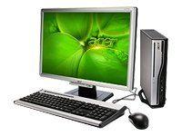 Acer Veriton L410 Desktop-PC (AMD Athlon 64 X2 4850e 2,5GHz, 1GB RAM, 160GB HDD, RS690 onboard, DVD+- DL RW, Vista Business)