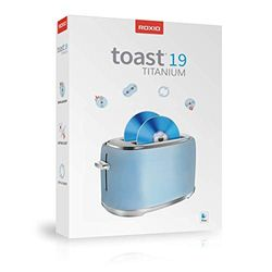 Roxio Toast 19 Titanium |Digitale-mediasuite en dvd-brander voor de Mac [Disc]|Titanium|1 Device|1 year|Mac|Disc