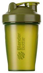 BlenderBottle Classic Shaker met blenderBall, optimaal geschikt als eiwitshaker, proteïneshaker, waterfles, drinkfles, BPA-vrij, schaalt tot 400 ml, inhoud 590 ml, mosgroen