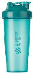 BlenderBottle Classic Botella de agua | Botella mezcladora de batidos de proteínas | con batidor Blenderball | libre de BPA | 820ml - Teal