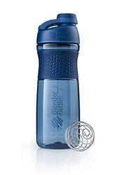 BlenderBottle Sportmixer Twist Navy Botella mezcladora, Unisex Adulto, 590ml