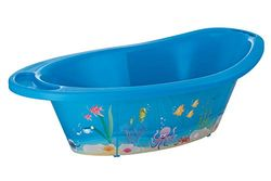 Rotho Babydesign 'Ocean StyLe!' Babybadje, met antislipmat en afvoerplug, 0-12 maanden, StyLe!, blauw, 20211012576