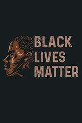 Black Lives Matter Injustice: Notebook Planner - 6x9 inch Daily Planner Journal, To Do List Notebook, Daily Organizer, 114 Pages