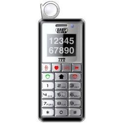 EASYHELP, zwarte grote toetsen telefoon met SOS-knop