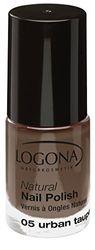 Logona Natural esmalte de uñas, No. 05, Urban gris