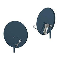 Opticum X80 satellietantenne 80 cm antraciet 5904378620844