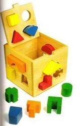 Adhome 1080 Würfel mit geometrischen Formen, 19 x 19 x 19 cm