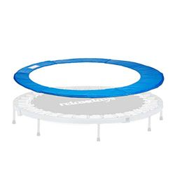 Relaxdays Trampolin Randabdeckung, Federabdeckung, Trampolin Zubehör, 30 cm breit, Randschutz, Durchmesser 366 cm, blau