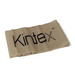 Kintex Unisex Gymnastikband Latexband 2.5m X 15cm Fitnessband, Silber, Unisize
