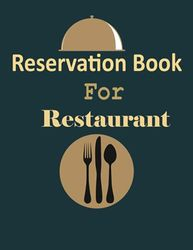 Reservation Book For Restaurant: Restaurants Reservations booking log book for hostess | 365 Day Guest Booking Diary Table Recording And Tracking | ... 2021 | Daily Hostess Table Log Journal