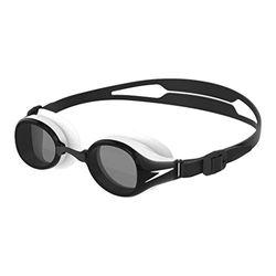 Speedo Hydropure Gafas de natación, Unisex-Adult, Negro/Blanco/Smoke, Einheitsgröße