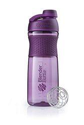 BlenderBottle Sportmixer Twist Plum Botella mezcladora, Unisex Adulto, 590ml