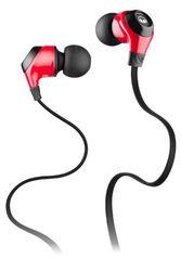 Monster MM MobileTalk N-Ergy in-ear hoofdtelefoon Mobile Packaging rood